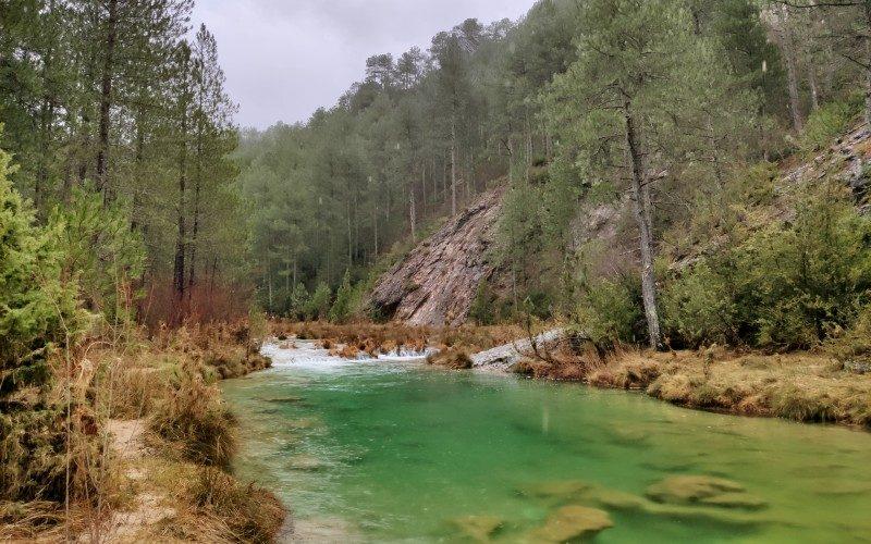 The Río Escabas in Serrania de Cuenca National Park