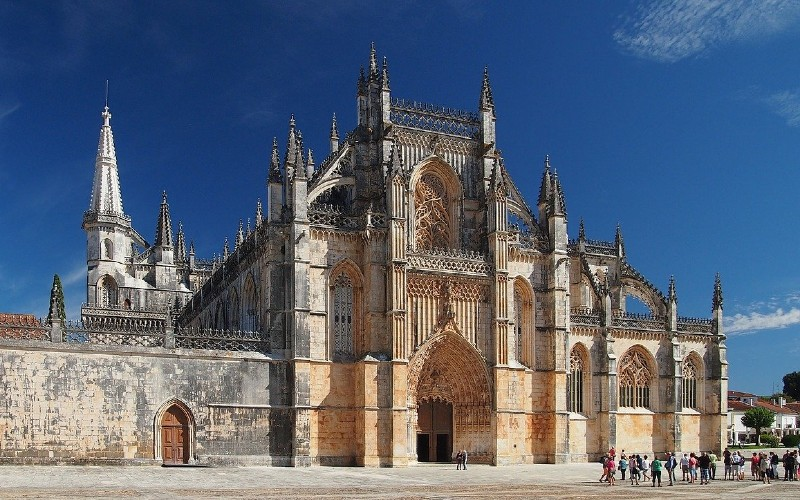 Batalha Monastery is a great stop on a Portuguese road trip