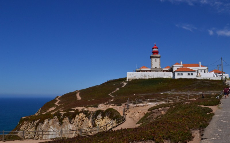 Cabo da Roca, one of the many great places to visit between Lisbon and Porto