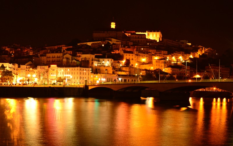 Coimbra is Portugal's 3rd largest city and a must visit during a road trip from Porto to Lisbon