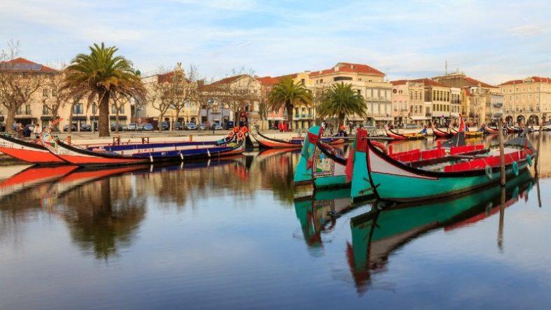 Moliceiro Boat Ride in Aveiro