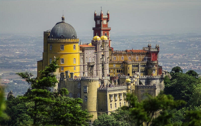 Our guide on Sintra's Pena Palace and Park - What to Expect from your visit