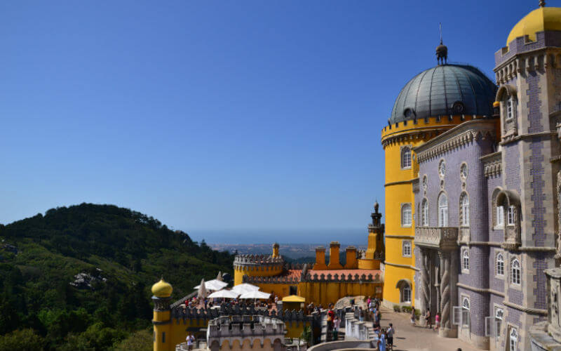 Pena Palace and Park in Sintra