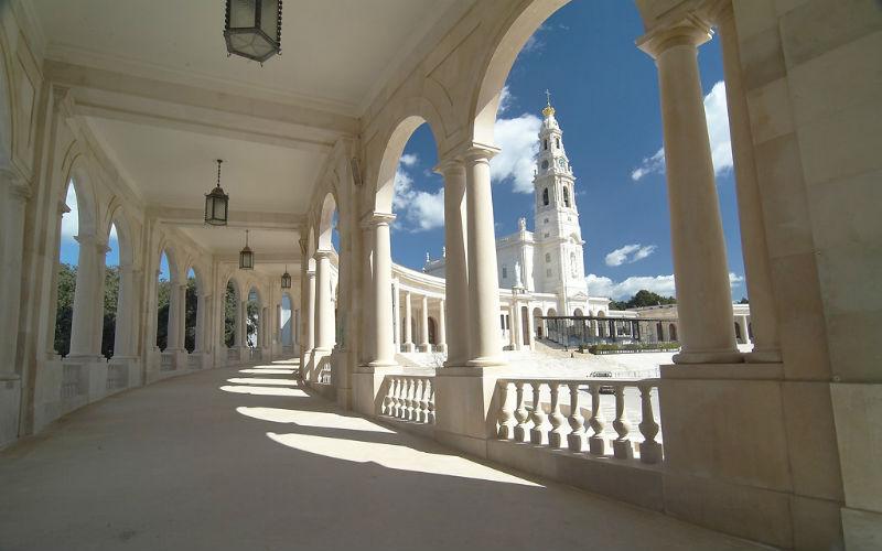 Fatima pilgrimage: The Basilica of the Rosary