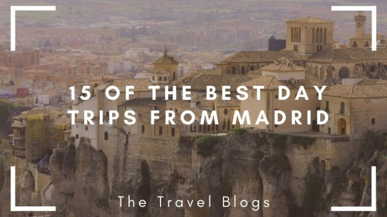 In one of the best day trips from Madrid you can visit Cuenca to see the Hanging Houses