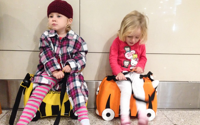 Trunki cases are perfect for travelling with toddlers