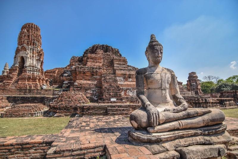 Wat Maha That in Ayutthaya Historical Park