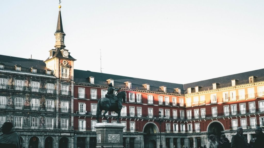 Plaza Mayor is a must see site in Madrid city centre