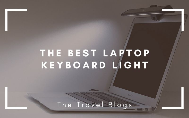 The best Laptop Keyboard Light, the Benq, lights up a laptop