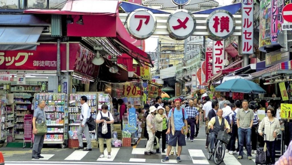 Shopping in Ameyokocho