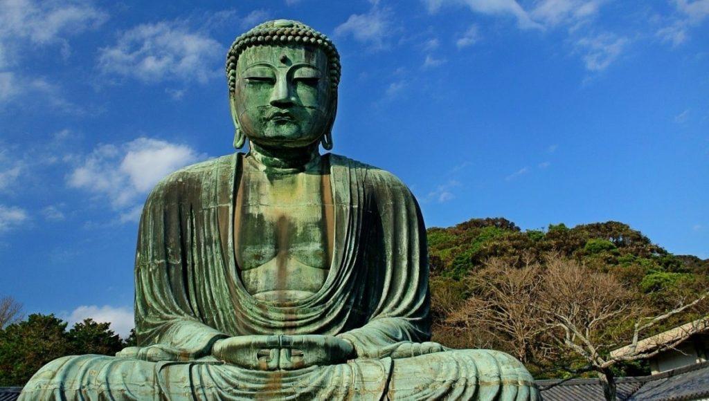 The Great Buddha of Kamakura in Japan