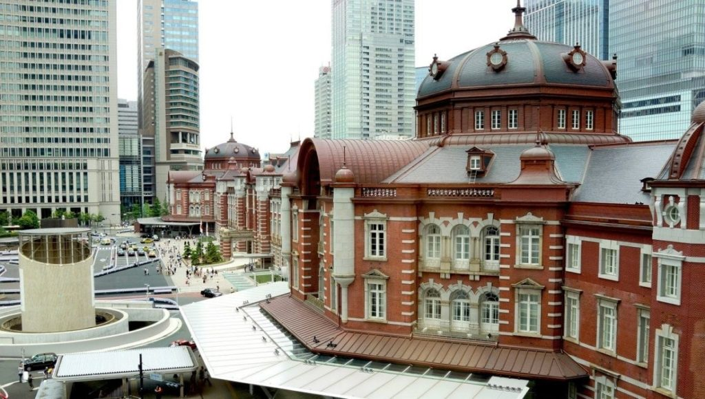 the Tokyo Station