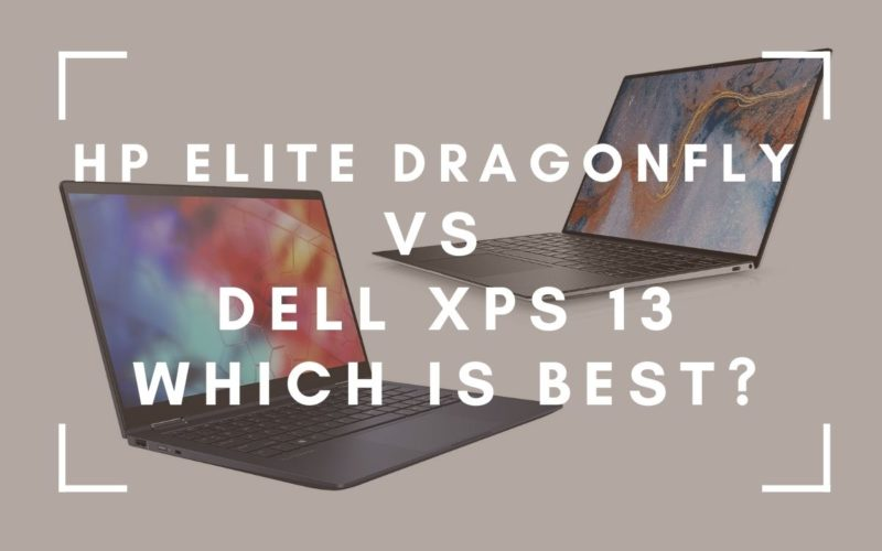 HP Elite Dragonfly vs Dell XPS 13