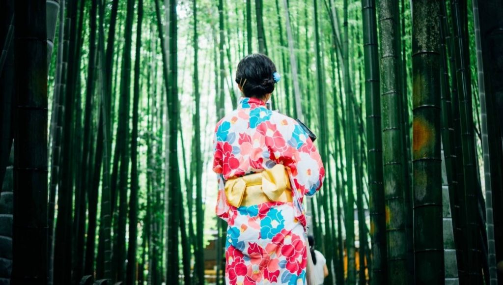 What to do in Kamakura - wear a Kimono
