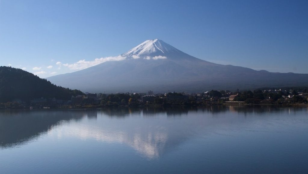 Lake Kawaguchiko is one of the Best Places To View Mt Fuji