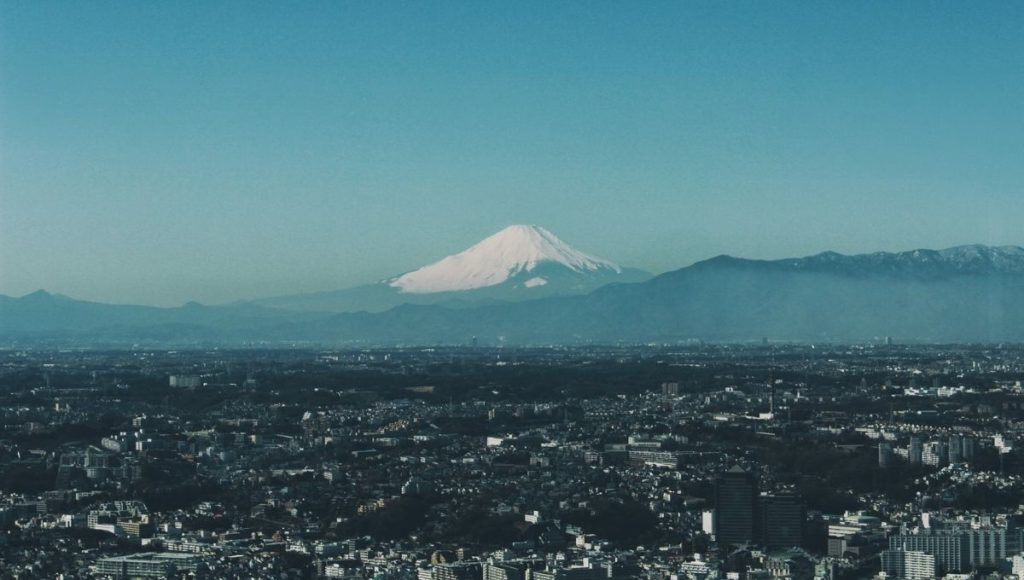 One of the Best Places To View Mt Fuji from Tokyo