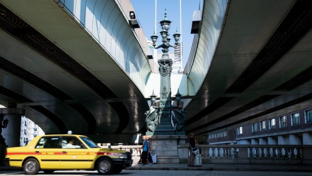 The center of Tokyo in Nihonbashi