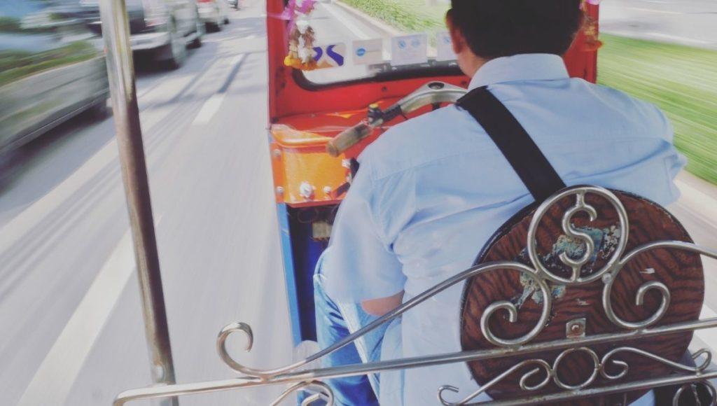 tuk tuk scams in Bangkok