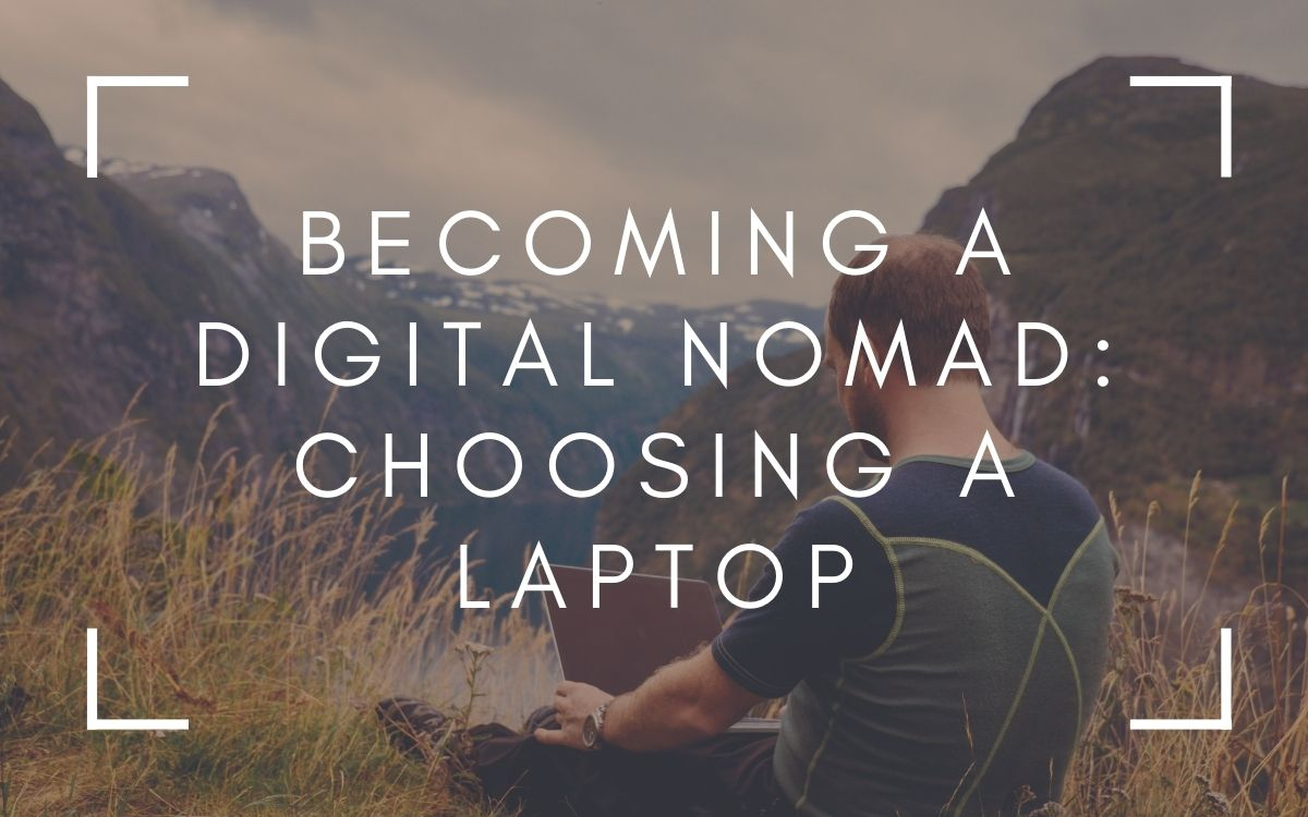 A man working as a Digital Nomad