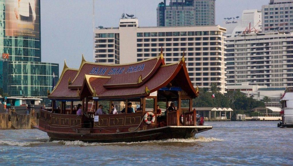A Bangkok river ferry
