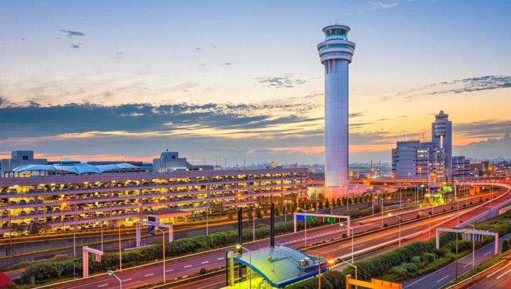 Haneda Airport in Tokyo