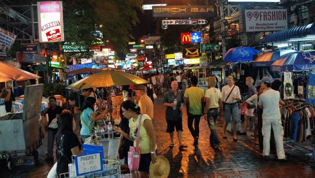 The backpackers paradise of Khao San Road