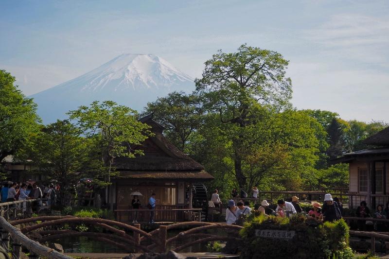 Oshino Hakkai, one of the many Kawaguchiko attractions