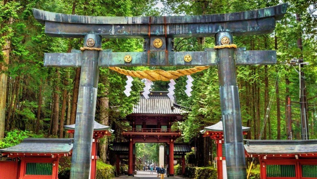 Futarasan-jinja in Nikko