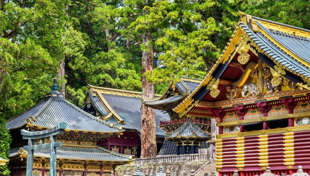 The UNESCO Wolrd Heritage site - TOSHO-GU Shrine