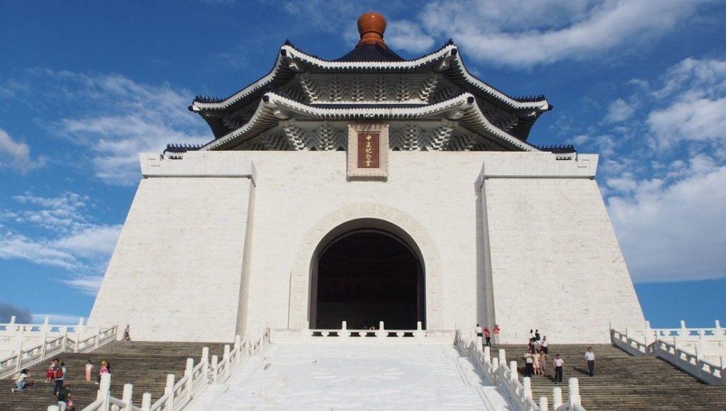 Entrance to the National Chiang Kai-shek Memorial Hall