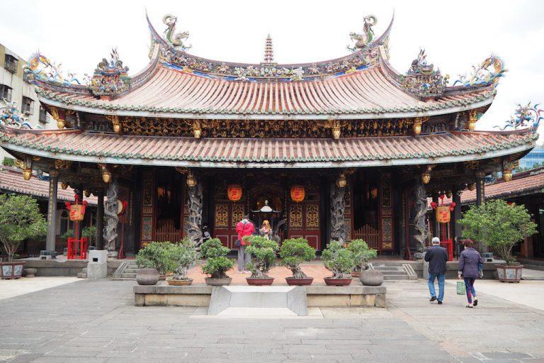 The Dalongdong Baoan Temple in Taipei