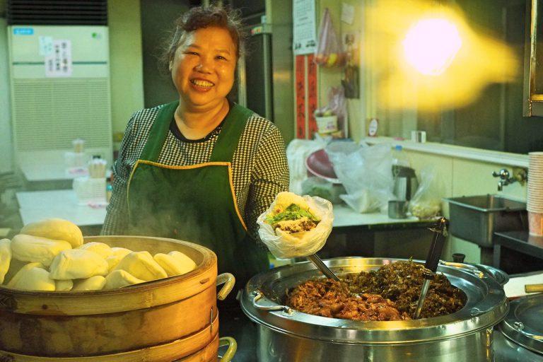 Taipei Eats Food Tour Taiwanese Burger Gua Bao