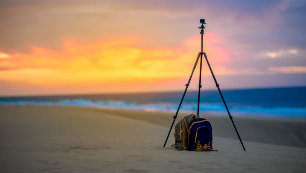 best travel tripod with a bag ending of the days.