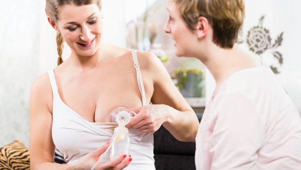 mother pumped breast milk