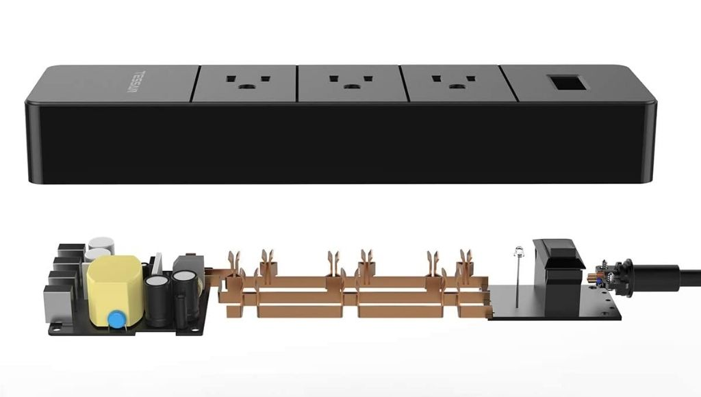 Best international travel surge protector has multiple type charge ports