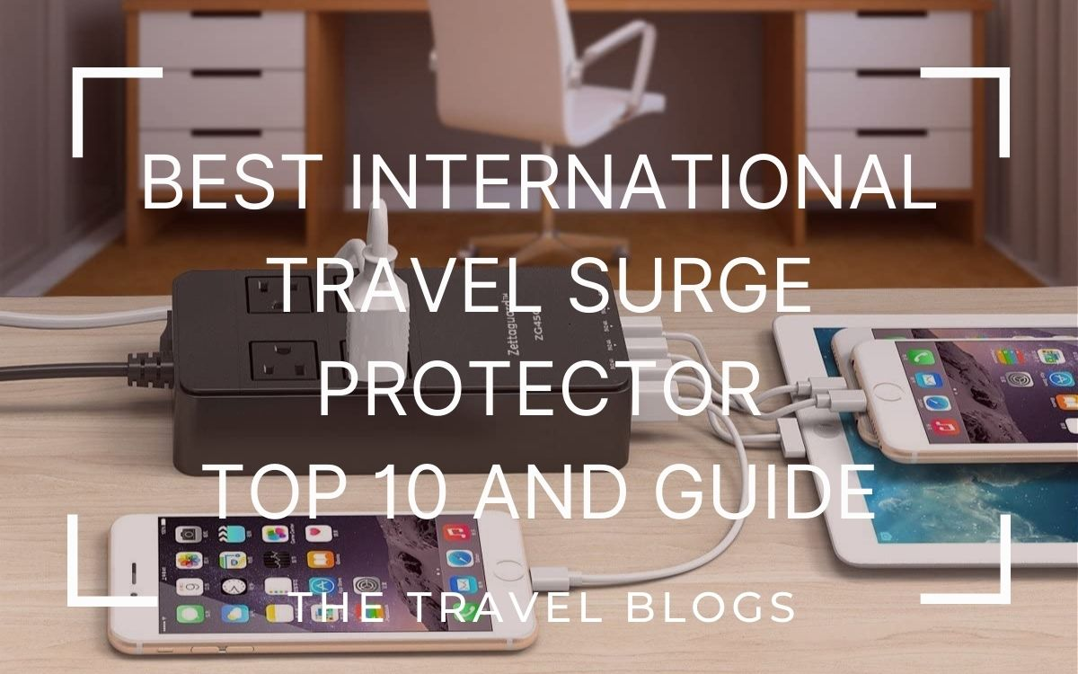 Best international travel surge protector
