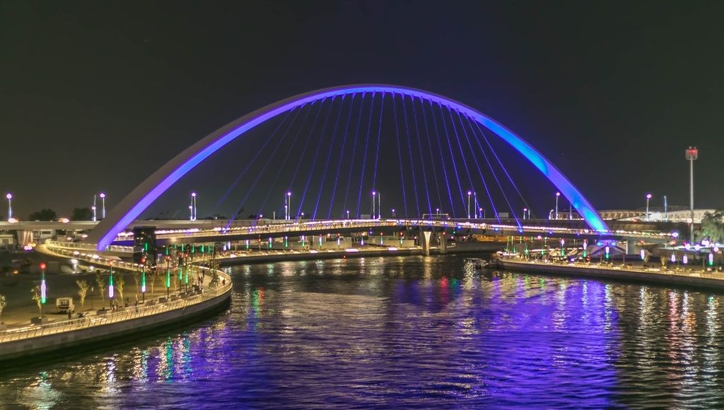Attractions around dubai water canal