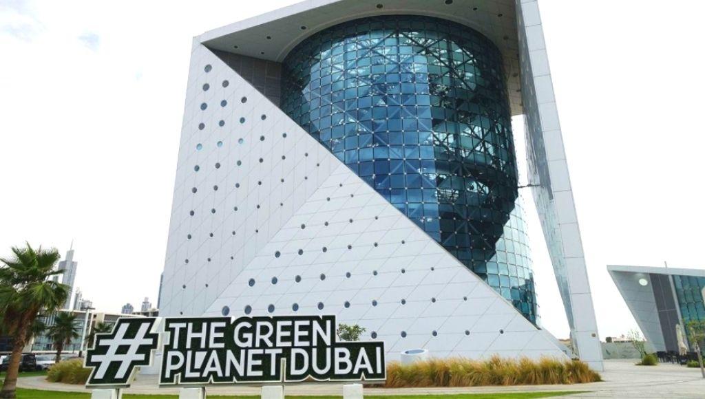 Dubai green planet building