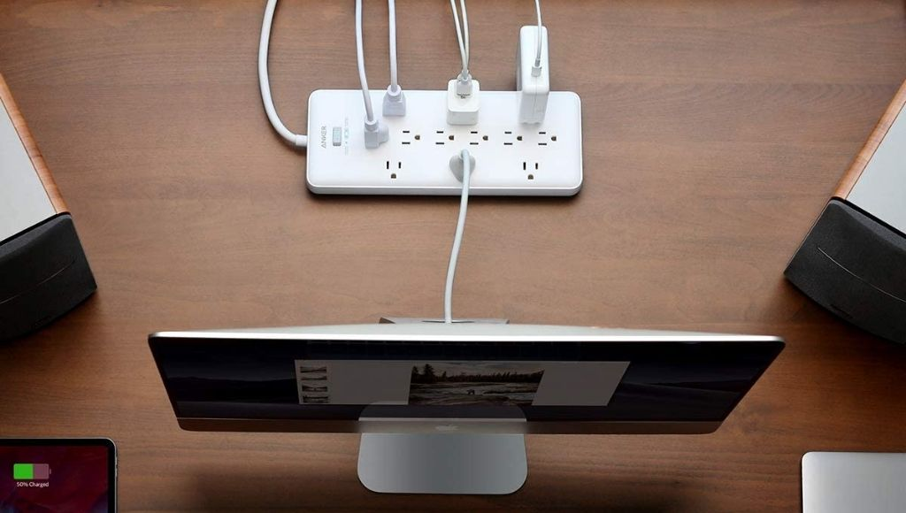 Best extension cord has power strip surge protector multi-type ports option